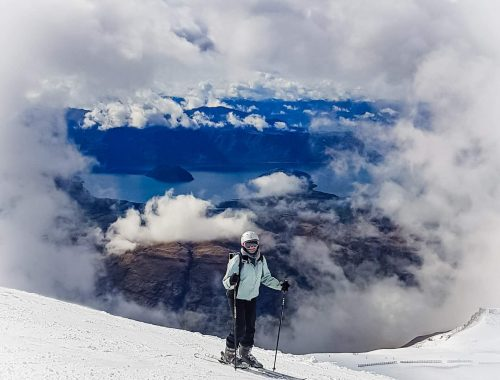 Skiing at TC